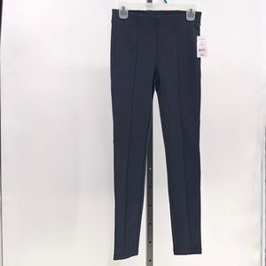 Joe Fresh Navy Leggings front seam Size XS NWT